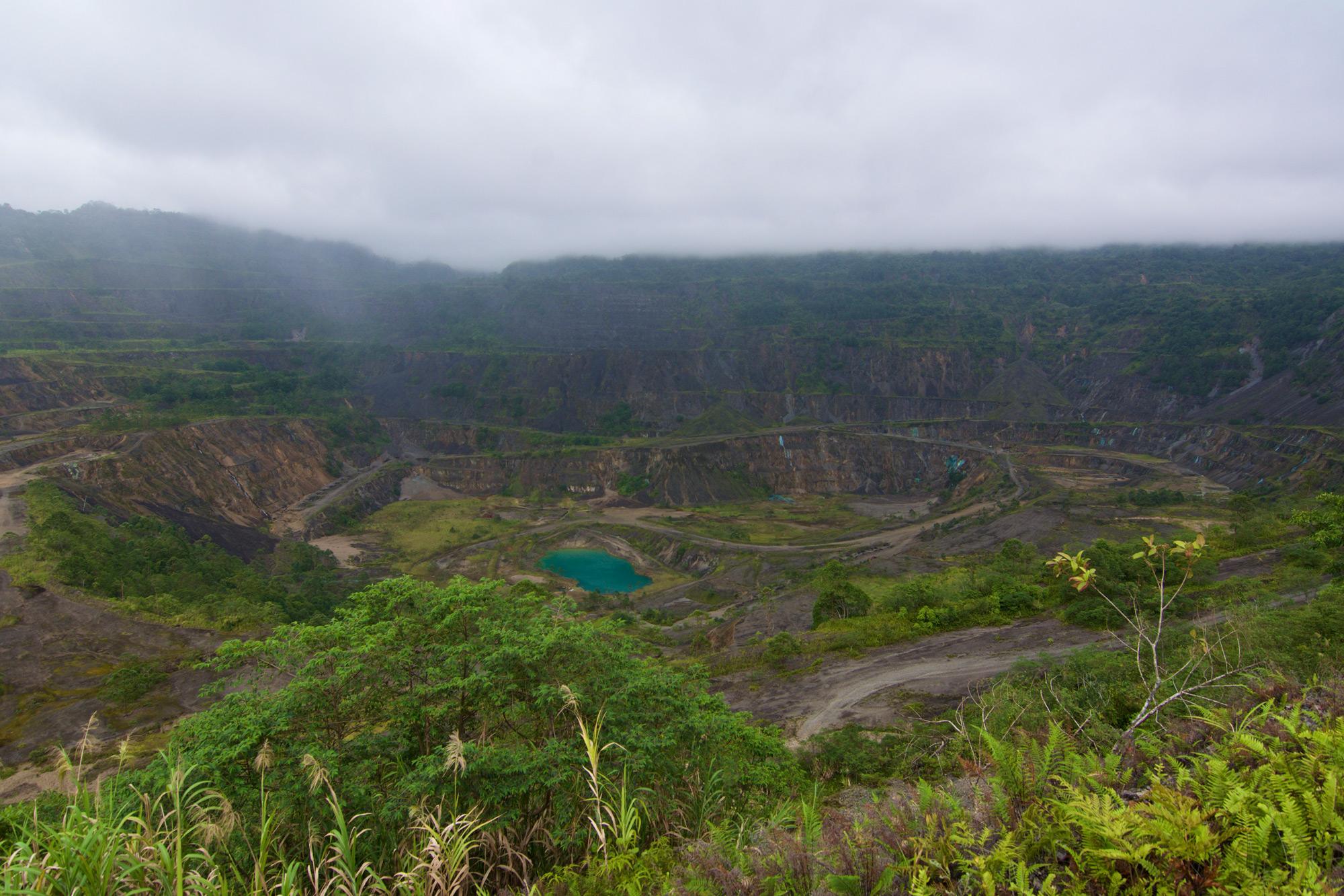Panguna Mine Pit